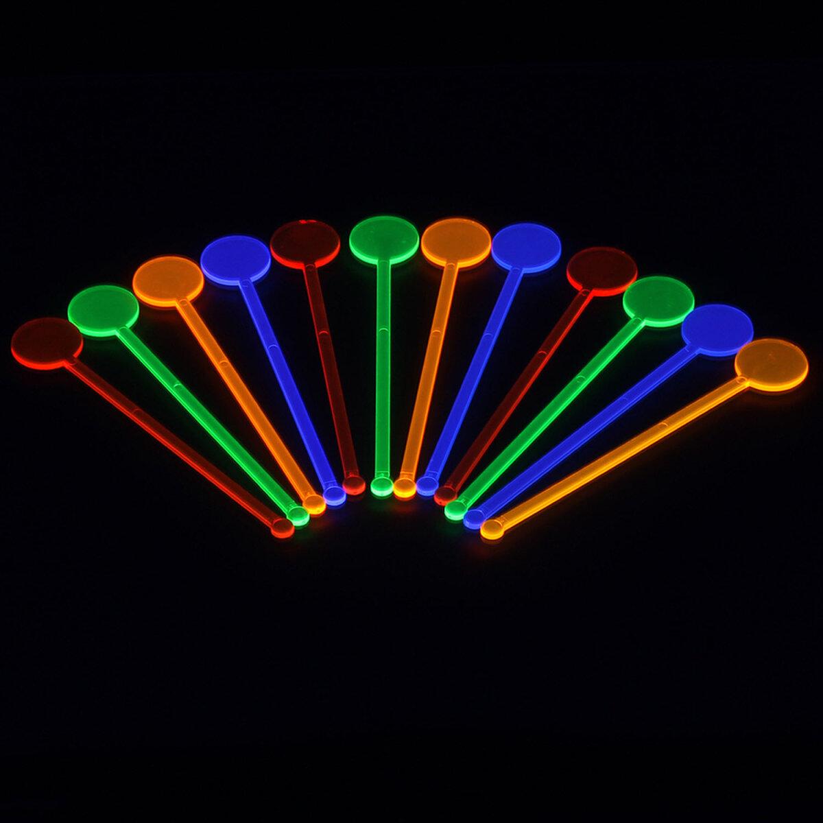 UV Neon Cocktail Rührstäbchen kaufen