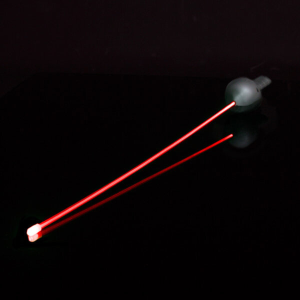 BLINXS LED Laser Degen in Rot