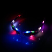 BLINXS LED Brille multicolor