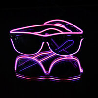 BLINXS EL Neon-Brille BEAM in Pink