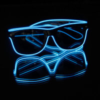 BLINXS EL Neon-Brille BEAM in Blau