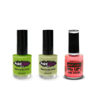 Glow in the Dark Nagellack 10 ml in verschiedenen Farben