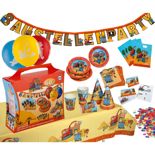 Party-Koffer Baustelle