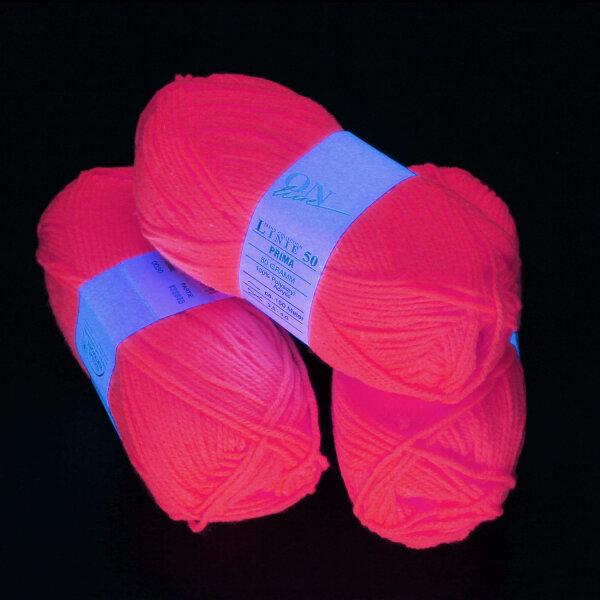 UV-Wolle Pink