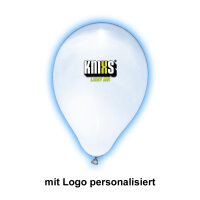 personalisierter Ballon mit multicolor LED...