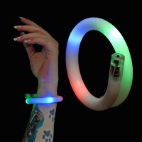 BLINXS LED Wickelarmband in Weiß (multicolor)