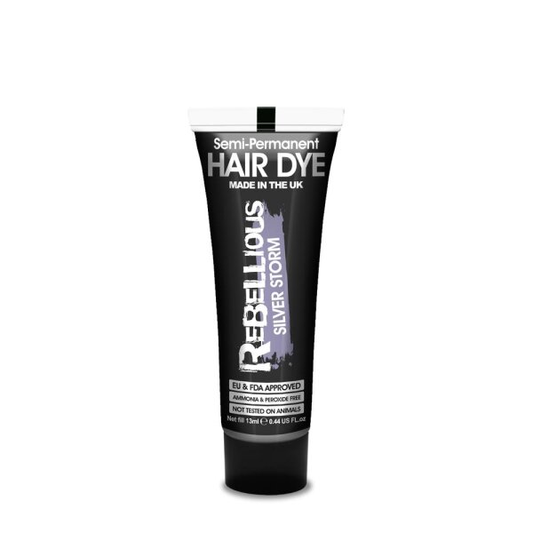 PaintGlow Haarfarbe, semi-permanent, 70 ml - Silver Storm