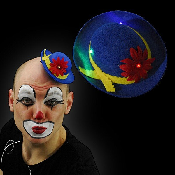 Kopie von BLINXS LED Mini Melone Clown in blau