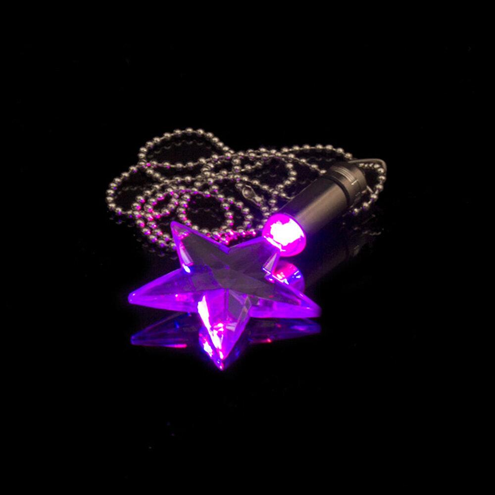 BLINXS LED Schmuckanhänger Plexiglas